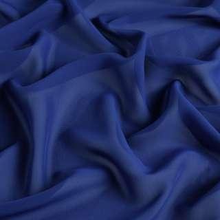 Шифон синий ш.150 оптом