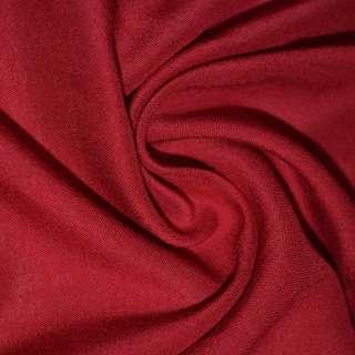 Штапель червоний темний ш.140 оптом
