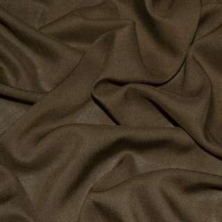 Штапель коричневий (відтінок темніше) ш.140 оптом