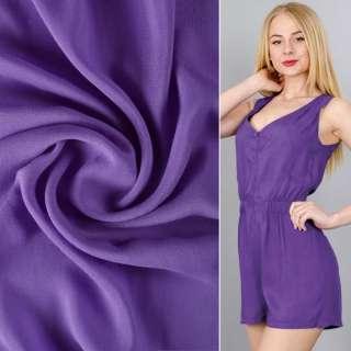 Штапель фіолетовий (темний індиго) ш.140 оптом