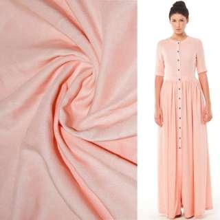 Штапель розово персиковый ш.140 оптом