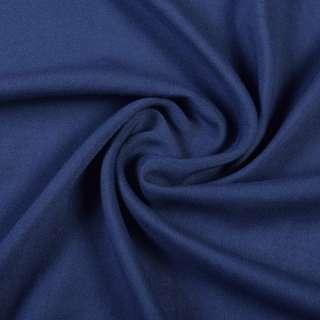 Штапель синій темний, ш.140 оптом