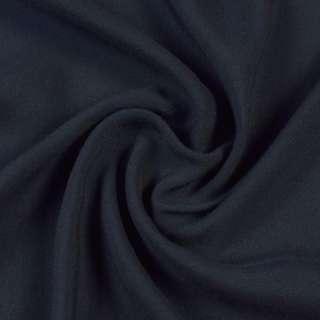 Штапель синій з чорним відтінком, ш.140 оптом