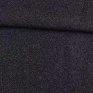Шерсть пальтовая серая темная ш.153 оптом