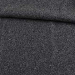 Шерсть пальтовая серая темная меланж ш.153 оптом
