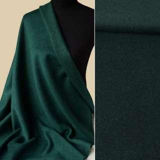 Вовна пальтова з метаниткою золотистою зелена темна, ш.152 оптом