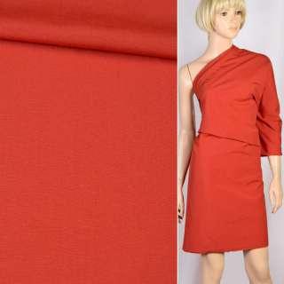 Вискоза костюмная красная, ш.156 оптом
