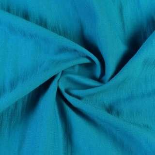Вискоза костюмная бирюзовая, ш.160 оптом