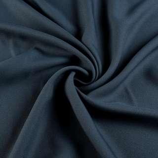Креп вискозный серый маренго темный ш.150 оптом