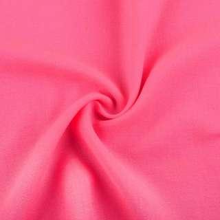Креп вискозный розовый неон, ш.145 оптом