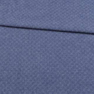 Джинс жаккардовый синий ш.150 оптом