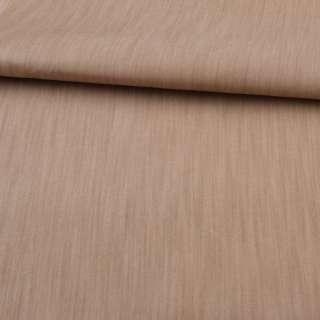 Джинс вискозный бежево-коричневый, ш.150 оптом