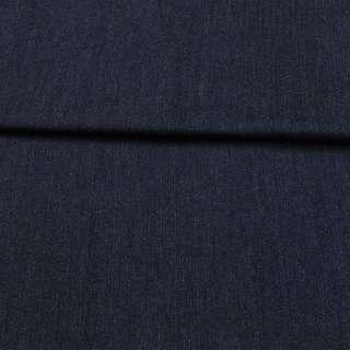 Джинс стрейч синій темний, ш.155 оптом