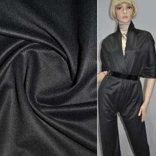 Шерсть костюмная темно-серая ш.145 оптом