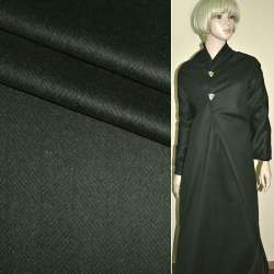 """Ткань костюмная темно-серая (елочка) """"PHILIPP"""" Германия ш.158 оптом"""