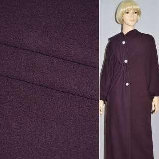 Тканина костюмна темно-бузкова STRELLSON швейцария ш.154 оптом