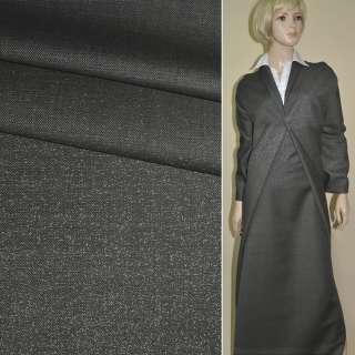 """ткань костюм. серая в крап (куп) """"LANIFICIO PIEMONTESE"""" Италия ш.158 оптом"""