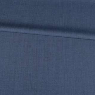 Ткань костюм. стрейч. серо-синяя Германия ш.155 оптом
