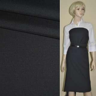 """Ткань костюм. сине-черная """"PHILIPP"""" Германия ш.150 оптом"""