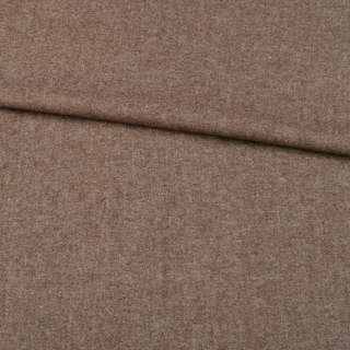 Шерсть с кашемиром коричневая светлая, ш.150 оптом