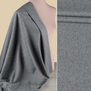 Вовна костюмна GUABELLO с кашеміром сіра меланж ш.150 оптом