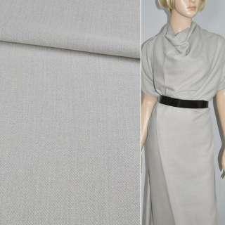 ткань костюмная светло-серая, ш.150 оптом