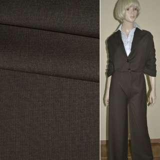 "Ткань костюм. коричневая ""PHILIPP"" Германия ш.158 оптом"
