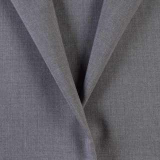 Ткань костюмная серая, ш.155 оптом