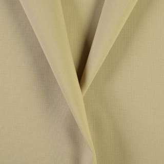 Ткань костюмная бежево-песочная, ш.154 оптом