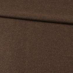 Кашемир шерстяной костюмный оливково-коричневый ш.150 оптом