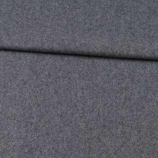 Кашемір вовняний костюмний сірий ш.155 оптом