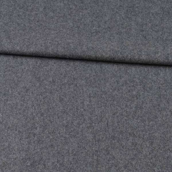 Кашемир шерстяной костюмный серый ш.155 оптом