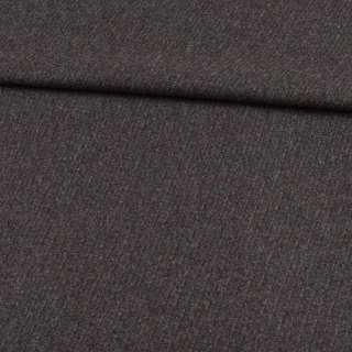Кашемір вовняний костюмний сірий в діагональні смуги ш.157 оптом