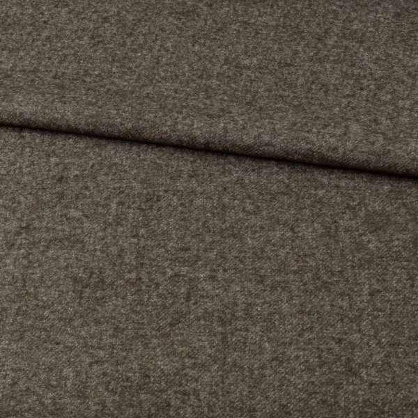 Кашемир шерстяной костюмный оливковый темный ш.150 оптом