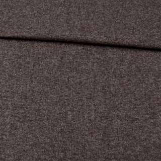 Кашемір вовняний костюмний коричнево-сірий ш.150 оптом
