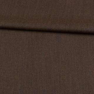Шерсть костюмна коричнева ш.157 оптом