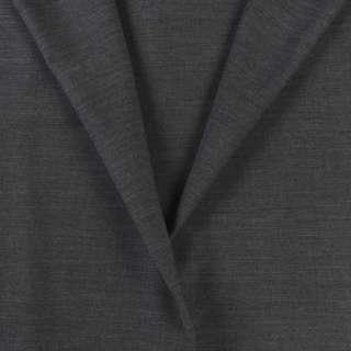 Ткань костюмная серая меланж, ш.160 оптом