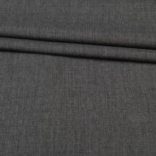 Ткань костюмная серая в светло-серую точку, ш.160 оптом