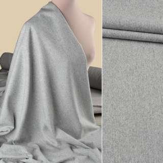 Вовна костюмна GUABELLO сіра світла меланж ш.155 оптом