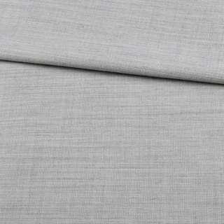 Льон з шерстю костюмний сірий світлий ш.155 оптом