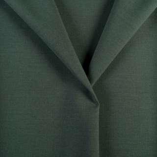 Ткань костюмная зелено-серая, ш.154 оптом