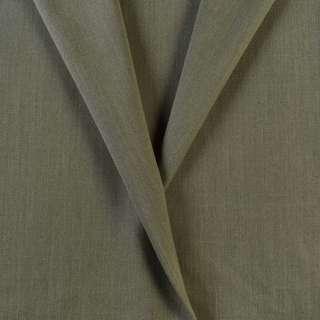 Ткань костюмная оливковая, ш.153 оптом
