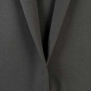 Ткань костюмная серая маренго, ш.150 оптом