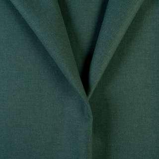 Ткань костюмная зеленая хвойная, ш.155 оптом