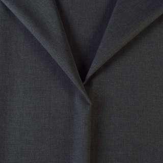 Ткань костюмная серая темная, ш.150 оптом