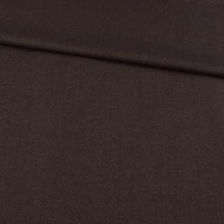 Шерсть костюмная коричневая, ш.158 оптом