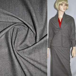 Шерсть костюмная светло-коричневая ш.160 оптом