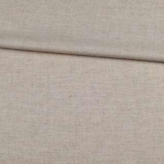 Шерсть костюмна бежево-сіра ш.155 оптом