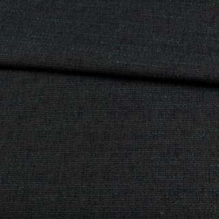 Рогожка сіра темна, зелені нитки, ш.155 оптом