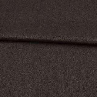 Креп вовняний муар коричневий ш.150 оптом